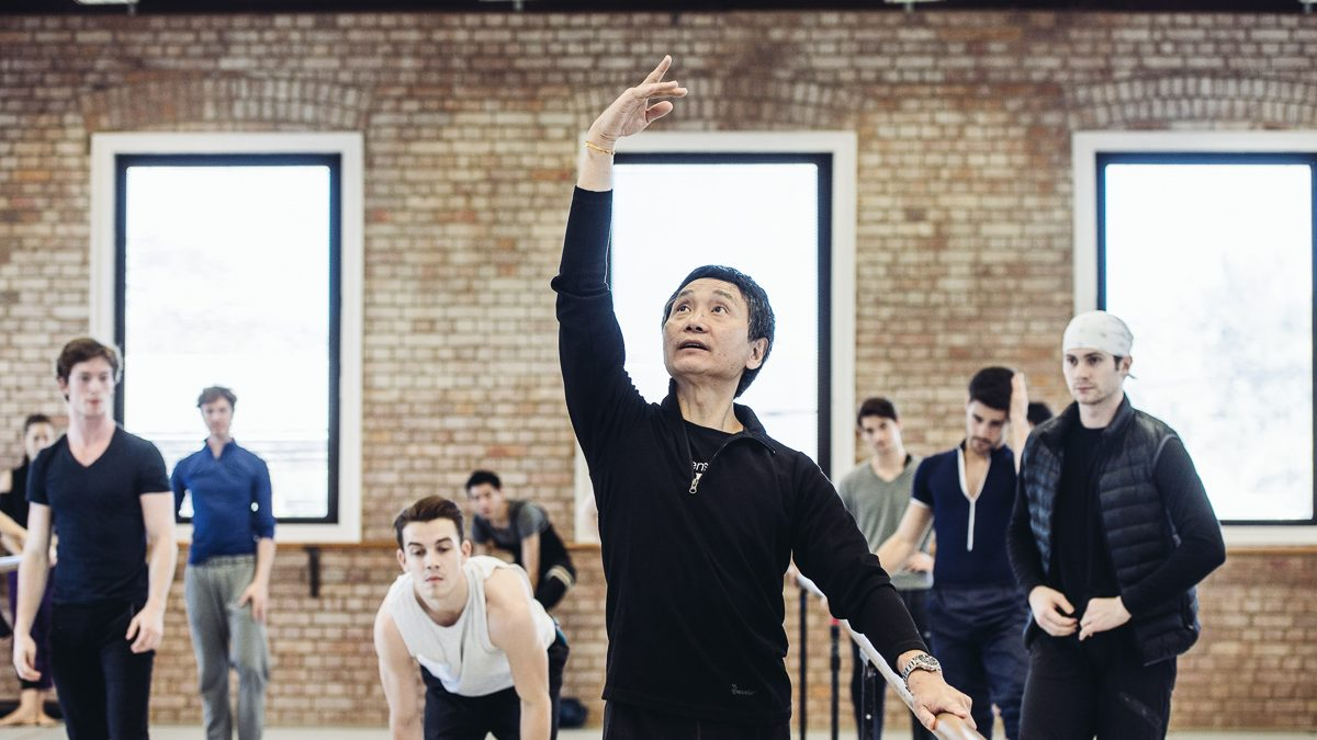 Inspiration en pointe: Li Cunxin on the ageless pursuit of movement
