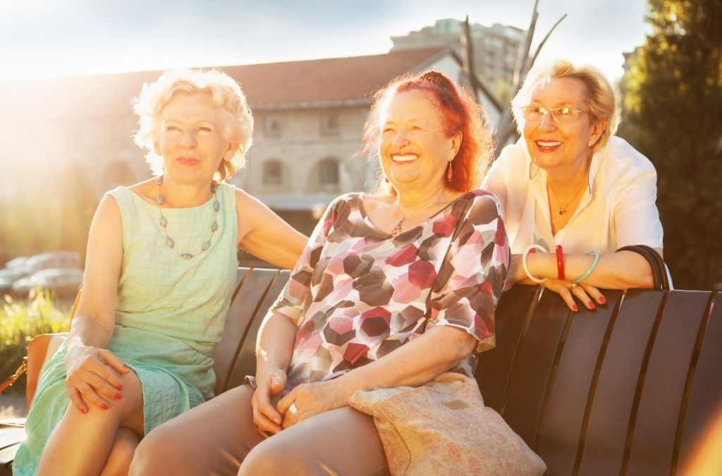 Why older women are happier than anyone else