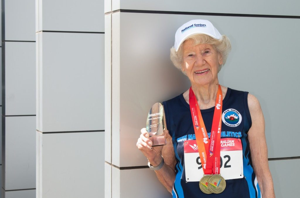 The world's fastest 93-year-old is smashing records and expectations